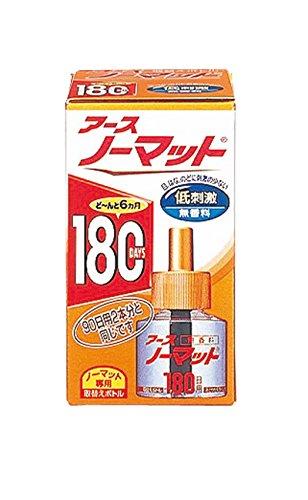アースノーマット 180日用 無香料 [4.5-12畳用 取替ボトル1本入]