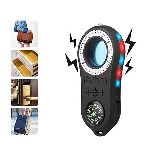 RF-Signal-Detektor, Sicherheit Kamera-Detektor, Spy-Detektor-Vorrichtung Anti-Spy versteckte Kamera Laser, Wanzen-Detektor GSM GPS Tracker Finder