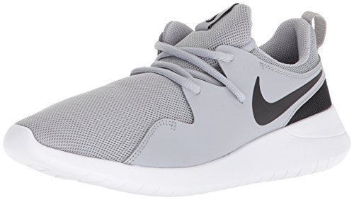 Nike Boys' Tessen (GS) Running Shoe, Wolf Grey/Black-White, 6Y Youth US Big Kid