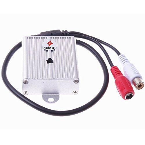 Vanxse® Mini Microphone High Sensitive Pickup Audio Mic waterproof Metal...