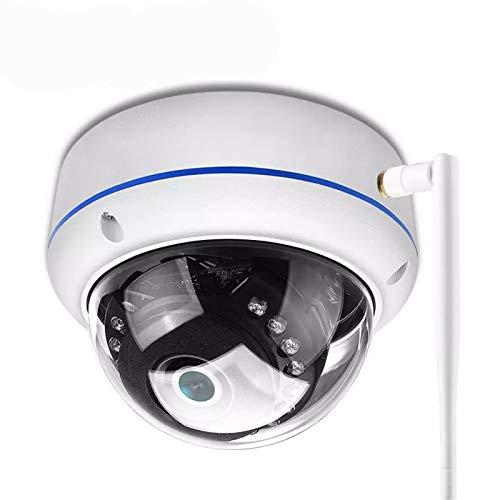 1080P Vandalensichere IP-Kamera WiFi Onvif P2P TF-Kartensteckplatz CCTV-Dome-Kamera drahtlose drahtgebundene Audio aufgenommene Überwachungskamera (Focus : 2.8mm, Sensor Size : 1080P NO SD Card)