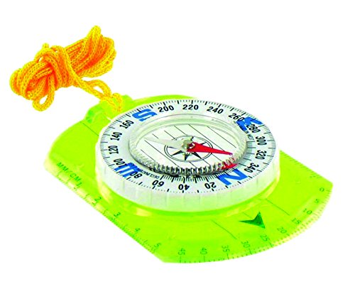 Highlander Outdoor Orienteering Compass, Green