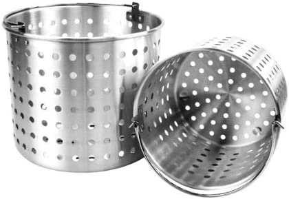 Year-end annual account Thunder Group Aluminum Steamer 32 A surprise price is realized Quart Baskets
