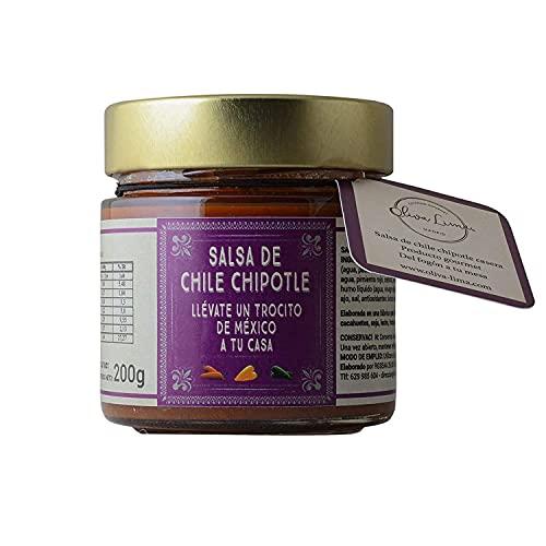 Oliva Lima Salsa De Chile Chipotle 200 Gr Salsa Chipotle Sabor Picante Y Ahumado Para Acompañar Platos De Comida Mexicana