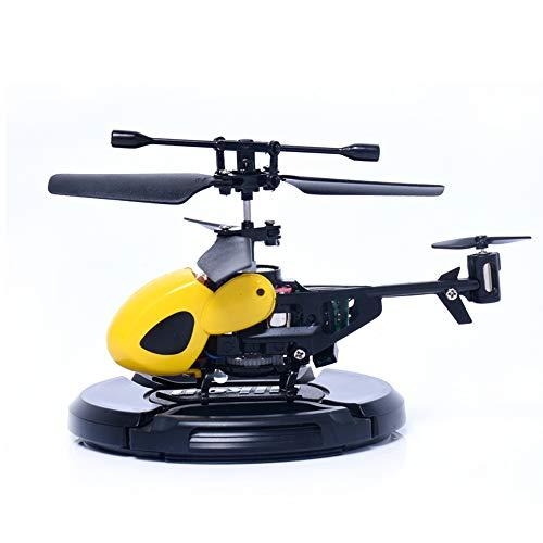 Mallalah helicóptero Mini Control Remoto RC Interior Exterior luz LED 2Canales niños Adulto Juguete Regalo diseño avión