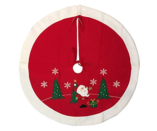 zeitzone Abdeckung für Christbaumständer Verkleidung Hülle Weihnachtsmann Tannenbaum