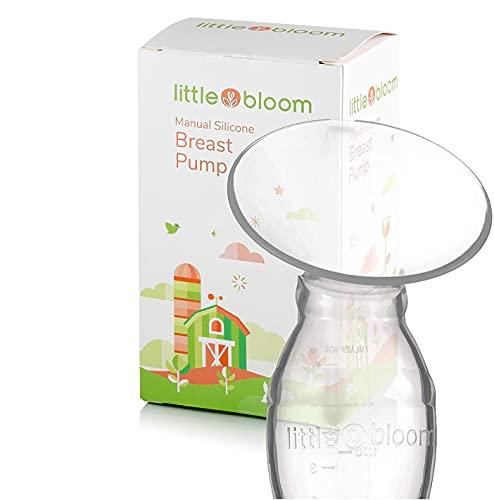 Extractor de leche de Silicona Littlebloom - Extracto leche materna 100% libre...