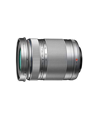 Olympus M.Zuiko Digital ED 40-150mm F4‑5.6 II Objektiv, Telezoom, geeignet für alle MFT-Kameras (Olympus OM-D & PEN Modelle, Panasonic G-Serie), silber