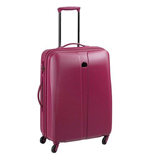 DELSEY Paris Schedule 2 Suitcase, 66 cm, 61 liters, Purple (Pivoine)