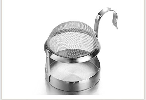 Tea Strainer, Stainless Steel Rotating Fine Tea Mesh Strainer With Handle By Xerus