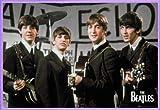 1art1 The Beatles Poster und Kunststoff-Rahmen - George