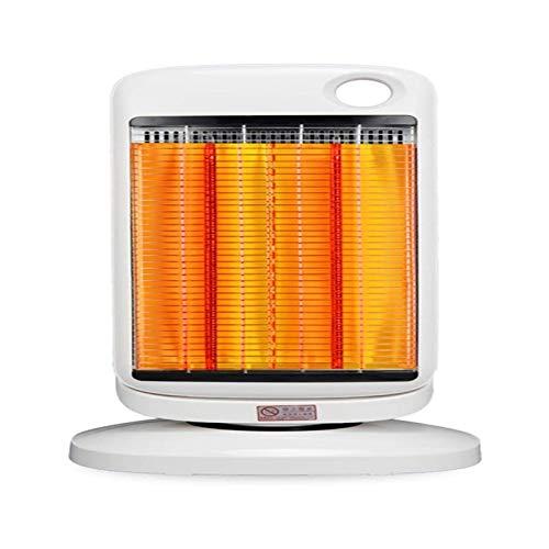 Calentador de espacio portátil interior, calentador eléctrico de 900 vatios, calentador de calefacción rápido con termostato ajustable, calentador eléctrico for el hogar y la oficina con sobrecalentam