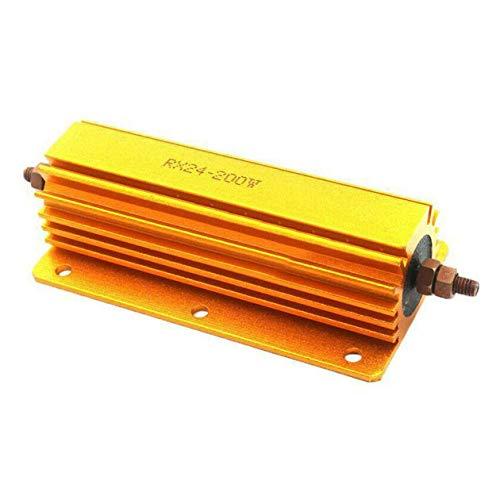 1R 2R 4R 8R 10R 200 W Watt Leistung Metallwiderstand 4 Röhrenverstärker Test Blindlast Aluminiumgehäuse Stromgehäuse Drahtgewickelter Widerstand - Gold