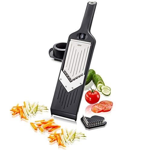 GEFU 50441 V-Hobel Julienne VIOLI 2.0 - für perfekte Obst- & Gemüsescheiben sowie Juliennestreifen