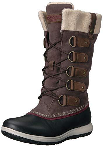 Rockport Womens XCS Britt High Boot, Brown, 5.5 M US
