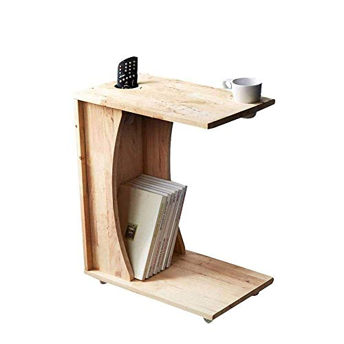 FTFTO Haushaltsprodukte C-förmiger Sofa Beistelltisch für Laptop Wohnzimmer oder...