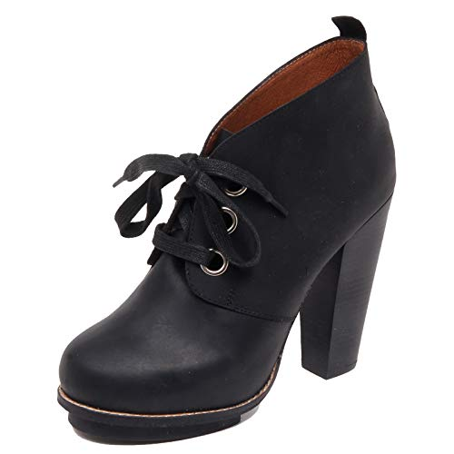 Jeffrey Campbell F7872 Tronchetto Donna Black ROTH Vintage Boot Shoe Woman [37]