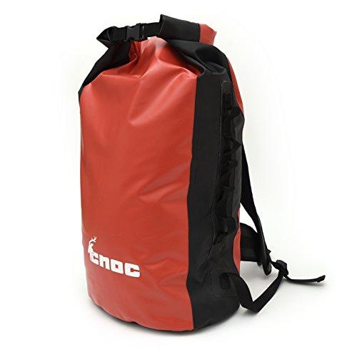 CNOC Wasserdichter Trekking-Rucksack 70 Liter I Packsack wasserdicht I Duffle Bag wasserdicht Seesack I Rucksack LKW Plane I Rack-Pack | Dry Bag | Roll Rucksack | Planenrucksack I Packsack für Outdoor