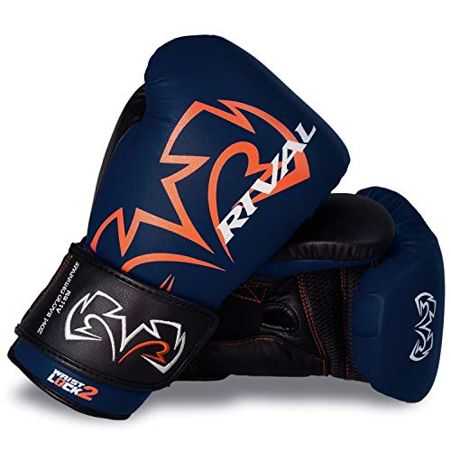 RIVAL Guantes de boxeo RS11V Evolution azul entrenamiento Sparring guantes de entrenamiento...