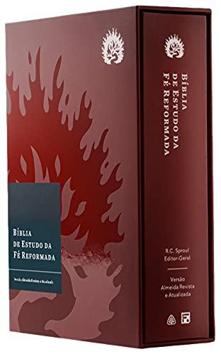 A Bíblia de Estudo da Fé Reformada - Capa Dura Bordô, Estojo