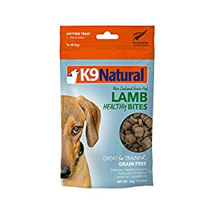 K9 Natural Freeze Dried Dog Treats By Perfect Grain Free, Healthy, Hypoallergenic Limited Ingredients Snacks For All Dog Types – Raw, Freeze Dried Treats – Natural Lamb Bites – 1.76Oz Pack