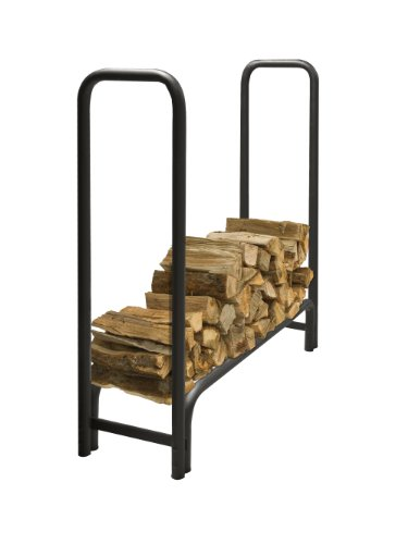 PleasantHearth - 38mm Premium Heavy Duty Log Rack, 4 Feet, Rack Only