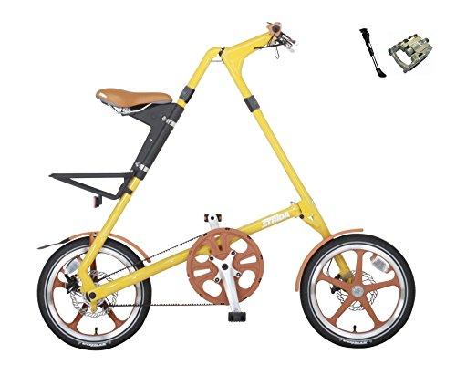 STRIDA(ストライダ) STRiDA LT【ストライダ LT】 16インチ 折り畳み自転車 キックスタンド、折り畳みペダ...