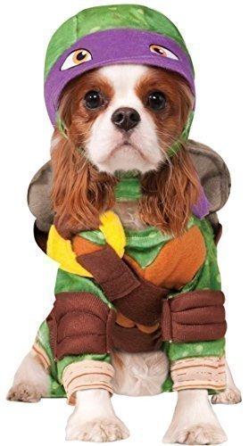 Fancy Me Haustier Hund Katze Teenage Mutant Ninja Turtles Halloween Film Cartoon Kostüm Kleid Outfit Kleidung Kleidung - Lila (Donatello), Extra Large