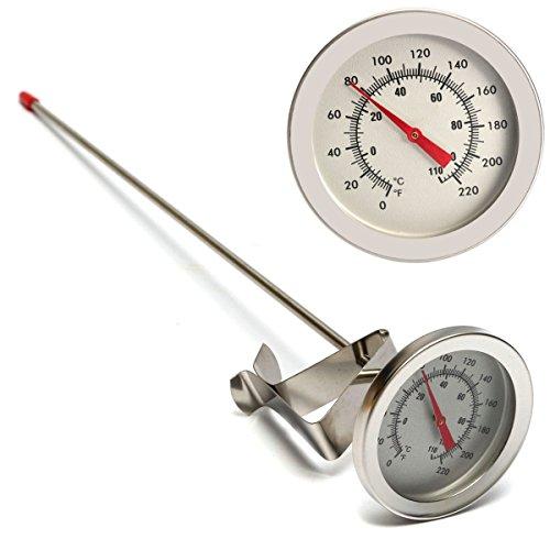 RVS Thermometer Bier Vat Voedsel Temperatuur Meting Met Knop