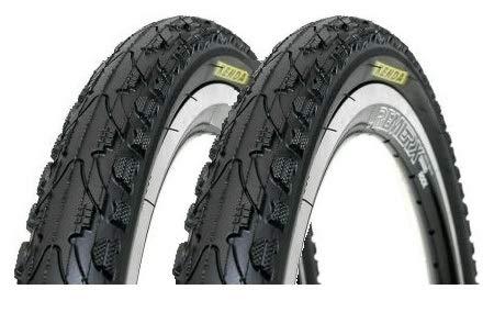 P4B | 2X komplettes 26 Zoll Fahrradreifen - Set (47-559) | 26 x 1.75 | Mit K-Shield Pannenschutz für langanhaltenden Fahrspaß und weniger Reifenschäden