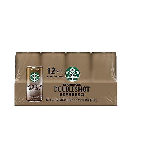Starbucks DoubleShot Espresso Drink 12 6.5oz Cans