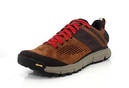 """Danner Men's 61272 Trail 2650 3"""" Hiking Shoe, Brown/Red - 9 EE"""
