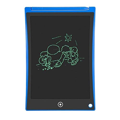 8.5 Inch Lcd Writing Tablet Digital Graphic Tablet Electronic Handwriting Drawing Pad Light Box + Stylus Pen Diamond Painting,Blue,China