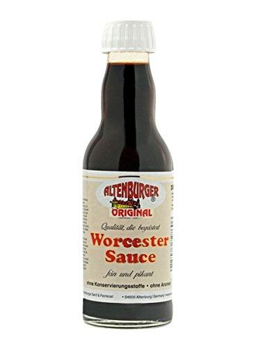 Altenburger Original Worcester Sauce, 200ml, Worcestershire Sauce glutenfrei, laktosefrei, vegan, ohne Zusatz von Aromen