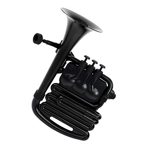 Nuvo jHorn en negro con ribete negro, talla única N610JHBBK