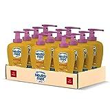 Neutromed Detergente Mani Liquido Sensual & Oil, Sapone Igienizzante Mani, Profumo di Fiori di Monoi, 12 pezzi x 300 ml