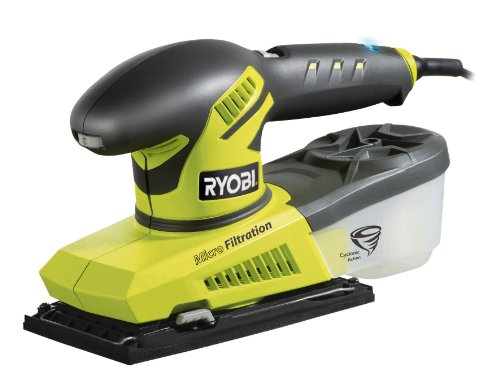 Ryobi ESS280RV 1/3 Blattschleifer mit variabler Geschwindigkeit, 280 W