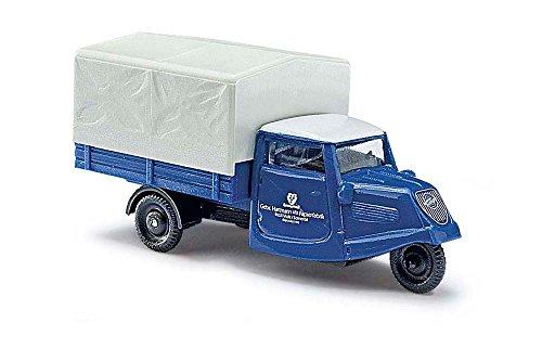 Busch 40603 – Tempo Hanseat Papier Tricycle Usine, véhicule