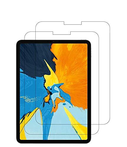 WEOFUN Panzerglas Schutzfolie für iPad Air 4 10.9 / iPad Pro 11 2018 [2 Stück], Panzerglasfolie für iPad Air 4 10.9 / iPad Pro 11 2018 [0.33mm, Anti-Kratzen, Anti Fingerprint, 9H Festigkeit]