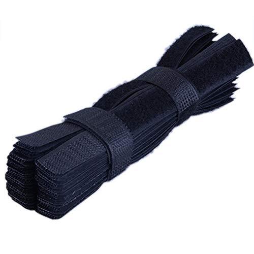 Urisgo – Cinta de velcro, 50 unidades, gestión de cables, cinturón, cinta...