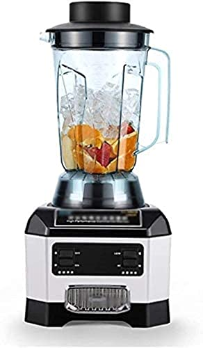 H.Slay SHKUU Ice crusher Professional Countertop with 1250 Watt Base, 72 Oz Total Crushing Pitcher for Frozen Drinks and Smoothies, Whrit