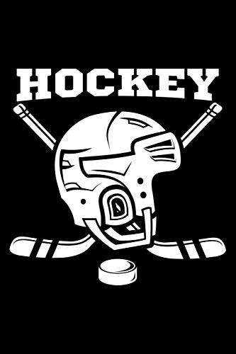 Hockey: Blank Paper Sketch Book - Artist Sketch Pad Journal for Sketching, Doodling, Drawing, Painting or Writing