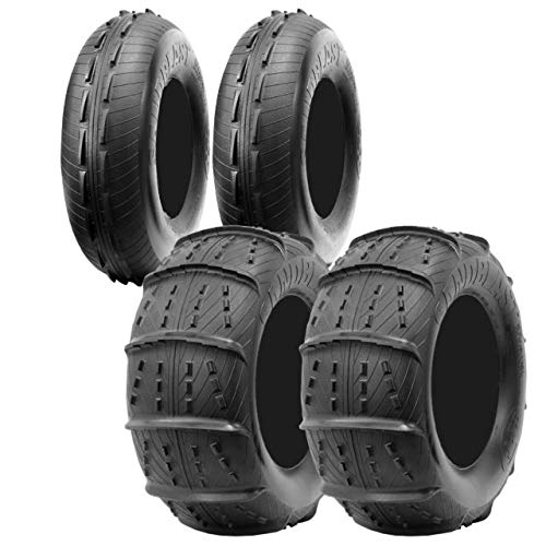 """CST Sandblast 30"""" Complete Front and Rear UTV Sand Tire Package- 30x10-14, 30x12-14"""