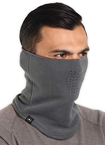 all of the best neck gaiters to buy for 2021 Winter Fleece Neck Gaiter - Face Mask/Half Balaclava for Cold Weather - Thermal Neck Warmer/Cover for Running & Skiing