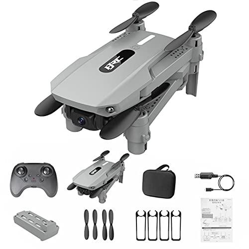 Mini Voll Faltbare RC-Drohne für Kinder Anfänger 4K Dual-Kamera Luftbild-Quadcopter, WiFi FPV Live-Video-Drohne Fernbedienung Flugzeug Spielzeug Headless-Modus Schwerkrafterkennung Schwebende
