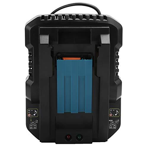 Cargador de batería de litio práctico Carga inteligente de doble pulso para...
