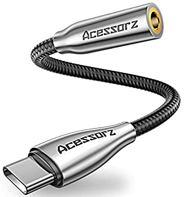 USB C to USB 3.0 Male Adapter, Acessorz [2-Pack] Zinc Alloy Hi-speed USB Type-C 3.1 Female to Type-A Male Converter Fast Charging & Sync OTG Adapter Connector for USB Type C Devices Pack of 2 - Silver