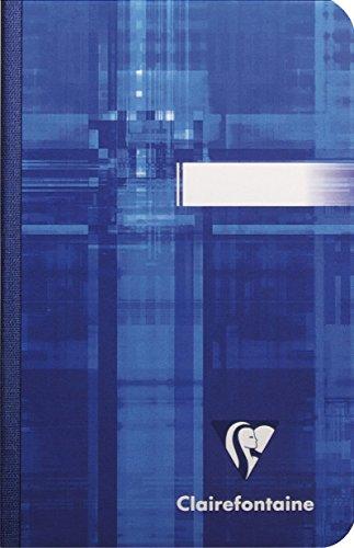 Clairefontaine 9596C Notizheft, gebunden liniert, 9 x 14 cm, 5-er Pack, 96 Blatt, farbig sortiert