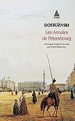 Annales de petersbourg (les) bab n°474 de Fédor Dostoïevski