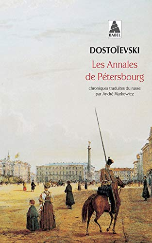 Annales de petersbourg (les) bab n°474